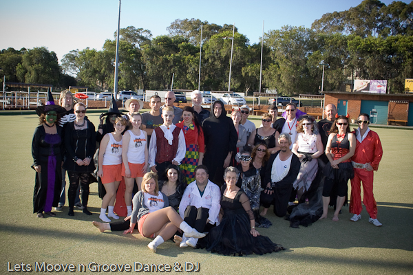 Rock n Lawn Bowls 2012 Group Photo