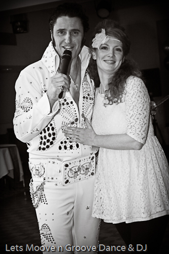 Mark and Gina Borg Born Again Elvis @ Winter Wonderland Ball